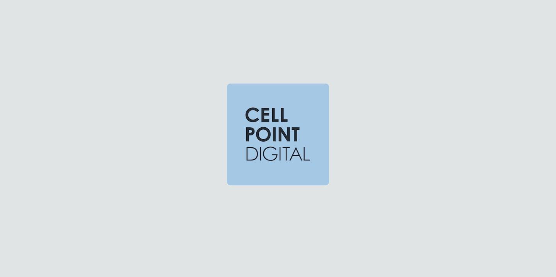 News Cell Point Digital Blue