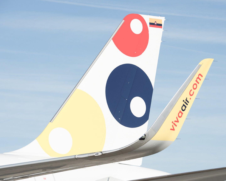 Aircraft from Viva Air, customer of CellPoint Digital