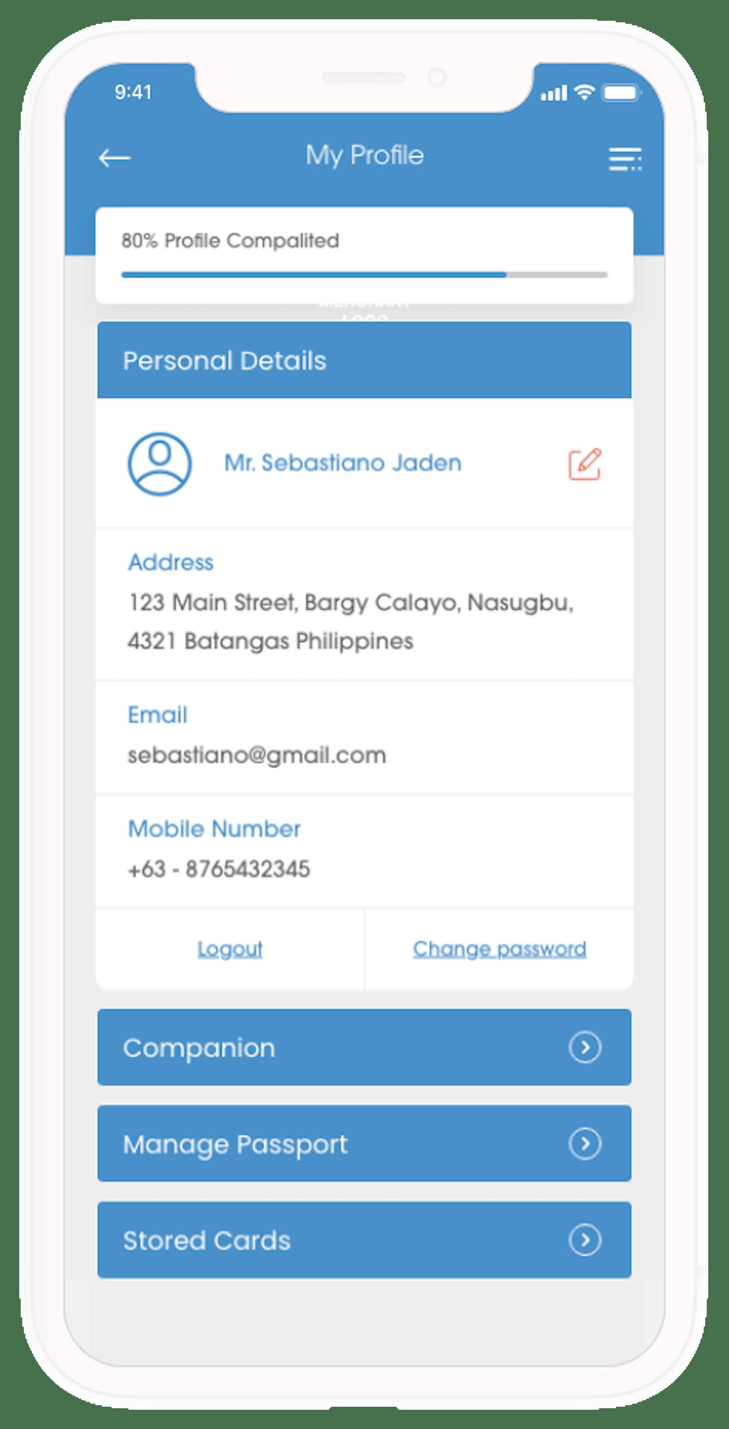ADC Sell Customer Profile Mobile