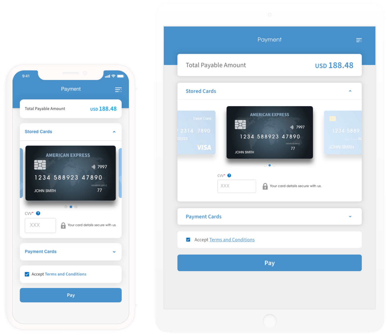 PGW Unify Native Mobile App SDK Mobile Tablet