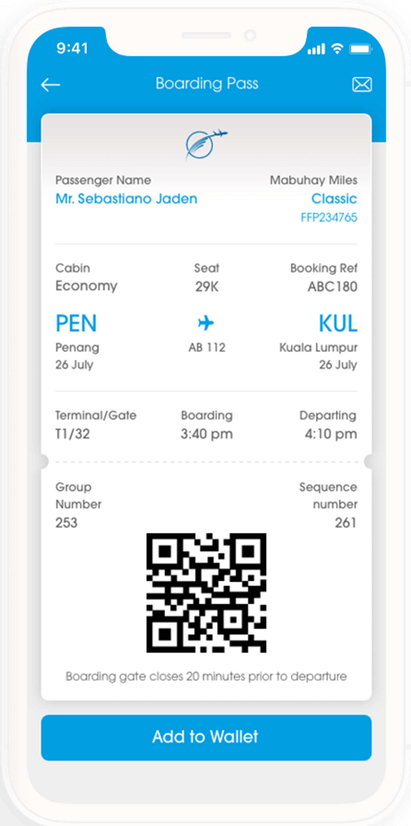 Voyage digital check-in issuign boarding via email or via local download on the app