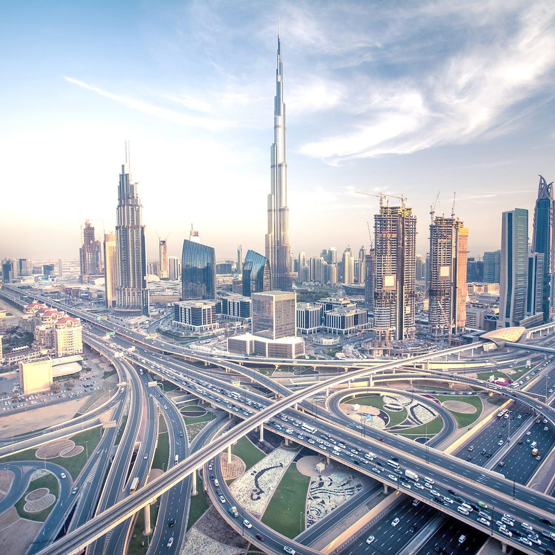 Dubai in the United Arab Emirates